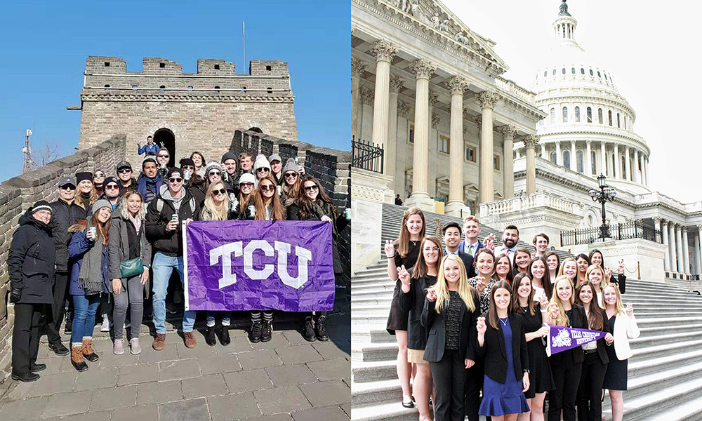 TCU Students abroad
